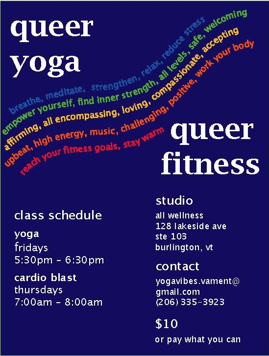 Queer Affirming Yoga and Fitness Classes