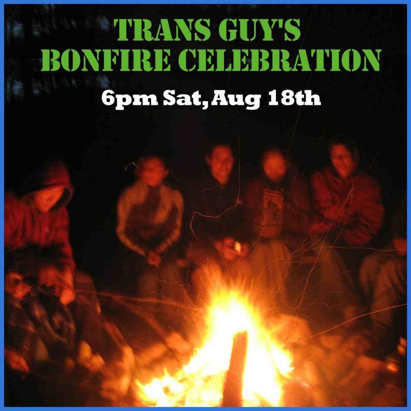 Trans bonfire