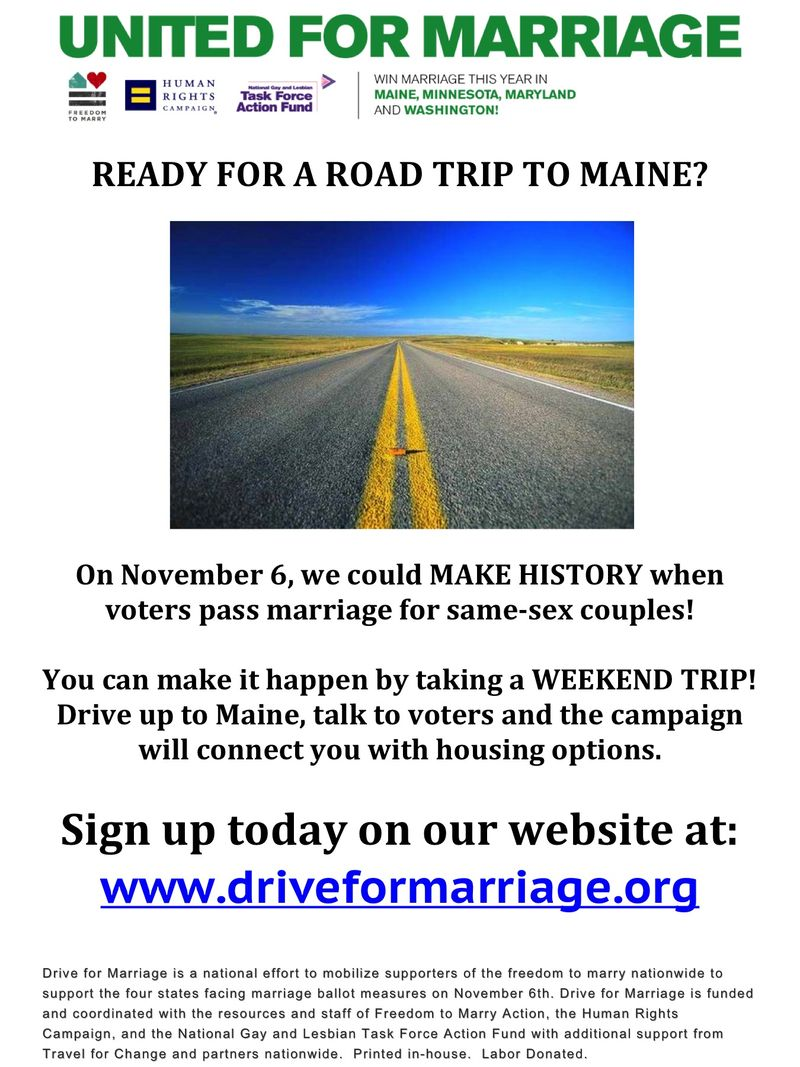 Road to Maine