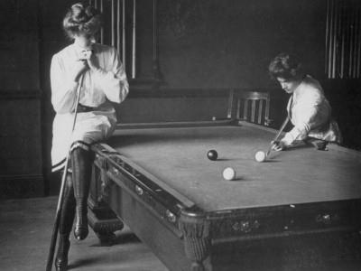 Women pool